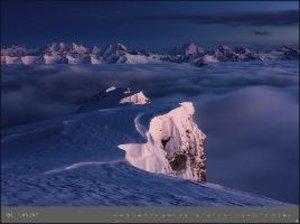 Alpen - Edition Alexander von Humboldt Kalender 2020