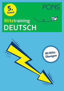 PONS Blitztraining Deutsch 5. Klasse