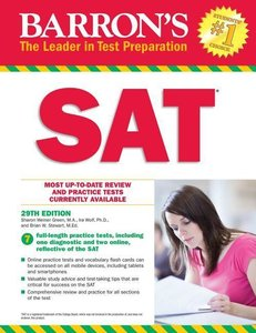 Barron\'s SAT with Online Test
