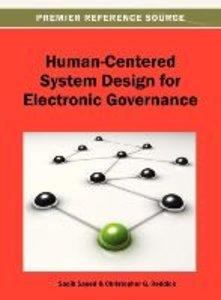 Human-Centered System Design for Electronic Governance