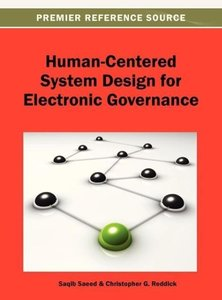 Human-Centered System Design for Electronic Governance