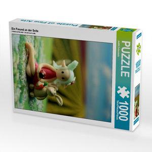 Ein Freund an der Seite 1000 Teile Puzzle hoch