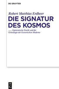 Die Signatur des Kosmos
