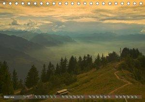 Der Zauber der Schweizer Berge (Tischkalender 2019 DIN A5 quer)