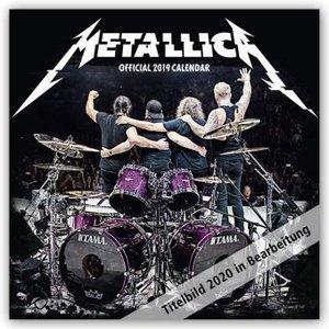 Metallica 2020 - 18-Monatskalender