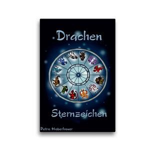 Premium Textil-Leinwand 30 cm x 45 cm hoch Drachen-Sternzeichen
