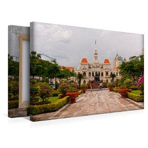 Premium Textil-Leinwand 45 cm x 30 cm quer Ho Chi Minh City
