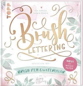 Brush Lettering. Gestalten mit Brushpen und Watercolor by May an