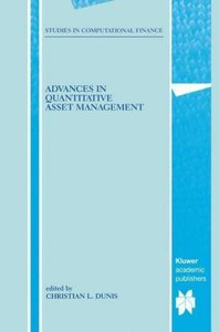 Advances in Quantitative Asset Management