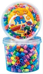 Hama 8571 - Maxi Perlen Dose pastellton 600 Stück