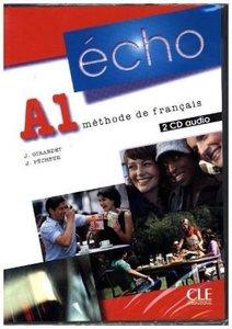 Écho A1. 2 CDs audio pour la classe