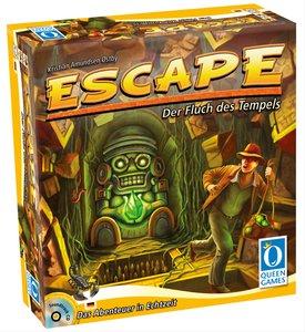 Asmodee Queen Games Escape - Der Fluch des Tempels