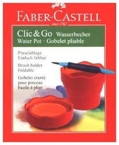Wasserbecher CLIC&GO Rot