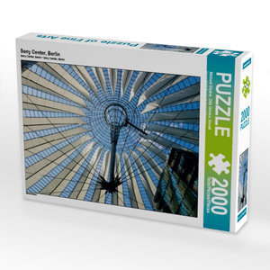 Sony Center, Berlin 2000 Teile Puzzle quer