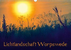 Lichtlandschaft Worpswede (Wandkalender 2020 DIN A3 quer)
