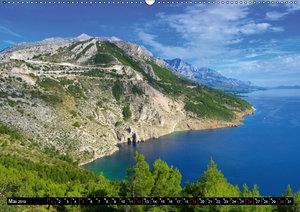 Makarska Riviera - Malerische Urlaubsorte in Dalmatien (Wandkale