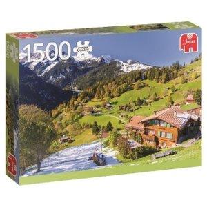 Berner Oberland, Schweiz - 1500 Teile Puzzle