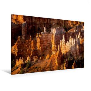 Premium Textil-Leinwand 120 cm x 80 cm quer Bryce Canyon