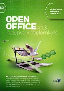 OpenOffice 4.1.3 plus Videolernkurs, 1 DVD-ROM