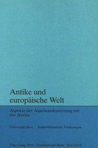 Antike und europäische Welt