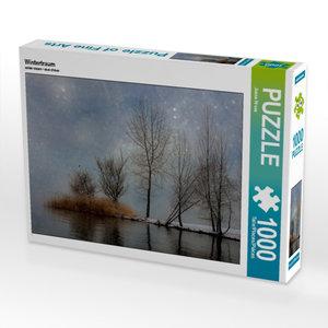 Wintertraum 1000 Teile Puzzle quer