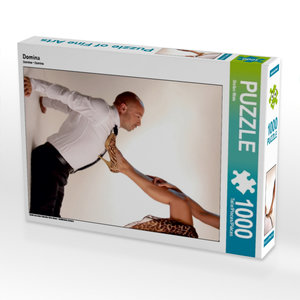 Domina 1000 Teile Puzzle hoch