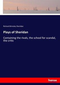 Plays of Sheridan
