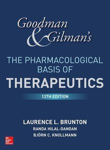 G&G\'S The Pharmacological Basis Of Thera