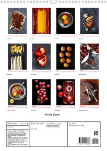 Feines Essen (Wandkalender 2020 DIN A3 hoch)