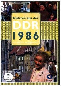Notizen aus der DDR 1986 - Ach, wie sind wir so gemütlich
