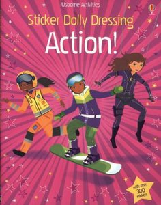 Sticker Dolly Dressing: Action Girls