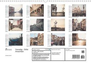 Venedig - Stille Ansichten (Wandkalender 2020 DIN A3 quer)