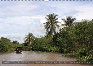 VIETNAM - Land der Flüsse (Wandkalender 2019 DIN A2 quer)