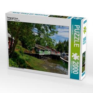 Telegraph Cove 2000 Teile Puzzle quer