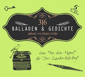 316 Balladen & Gedichte Von An Den Mond Bis Der Za