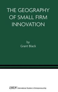 The Geography of Small Firm Innovation
