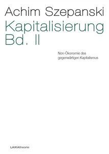 Kapitalisierung Bd. II