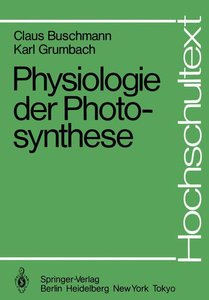 Physiologie der Photosynthese