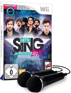 Let\'s Sing 2019 mit deutschen Hits [+ 2 Mikrofone] (Nintendo WI