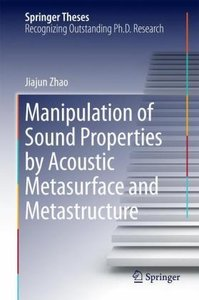 Manipulation of Sound Properties by Acoustic Metasurface and Met