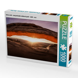CALVENDO Puzzle mesa arch - canyonlands national park - utah - u
