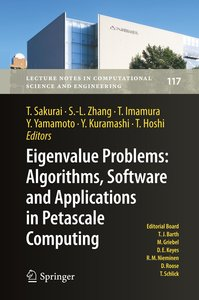 Eigenvalue Problems: Algorithms, Software and Applications, in P