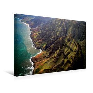 Premium Textil-Leinwand 45 cm x 30 cm quer Na Pali Coast
