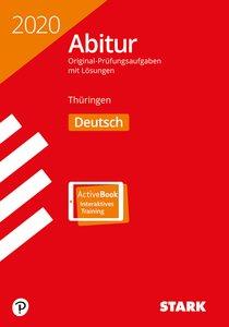 Abitur 2020 - Thüringen - Deutsch