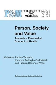 Person, Society and Value