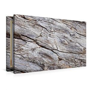 Premium Textil-Leinwand 90 cm x 60 cm quer Uriges Treibholz