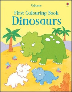 First Colouring Book Dinosaurs