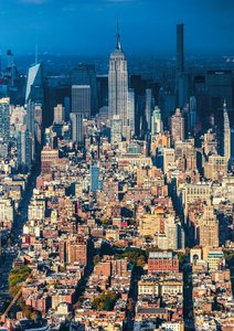 New York City Sky High - poster book