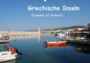 Griechische Inseln (Wandkalender 2019 DIN A2 quer)