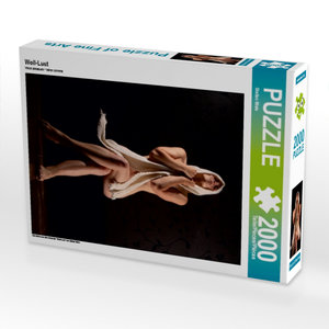 Woll-Lust 2000 Teile Puzzle hoch